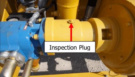 Inspection plug